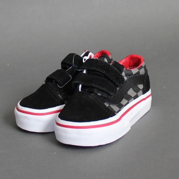 00ca1e677e5289 Vans infant Old Skool Checkerboard